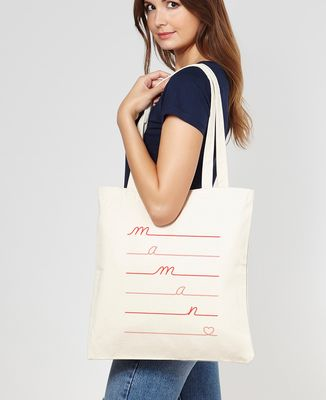 Tote bag Maman Love