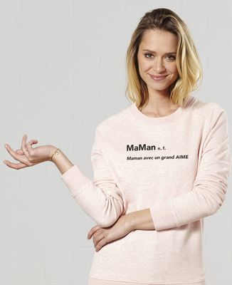 Sweatshirt femme MaMan