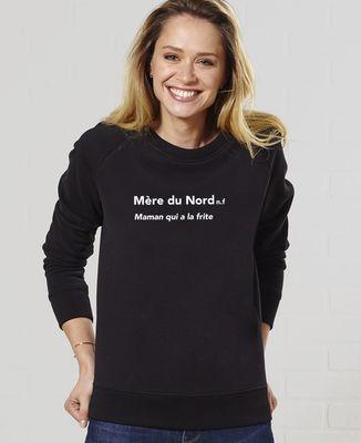 Sweatshirt femme Mère du Nord