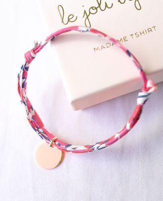 Bracelet Liberty Plaqué or Personnalisé