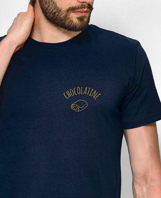 T-Shirt homme Chocolatine brodé