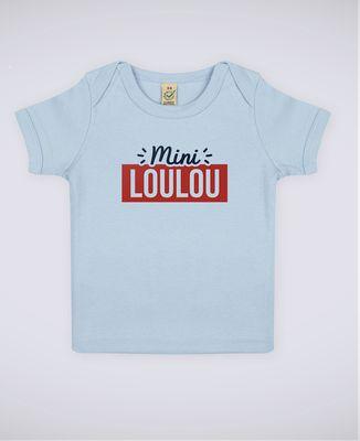 T-Shirt bébé Surnom encadré personnalisé