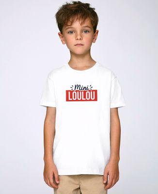 T-Shirt enfant Surnom encadré personnalisé