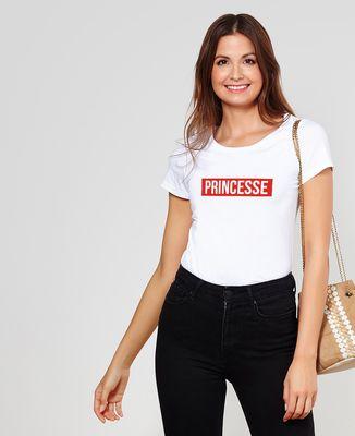 T-Shirt femme Surnom encadré personnalisé