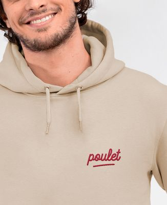 Hoodie homme Poulet (brodé)
