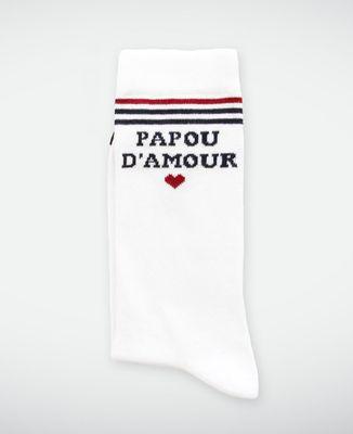Coffret Père-fect (brodé) + chaussettes papou d'amour