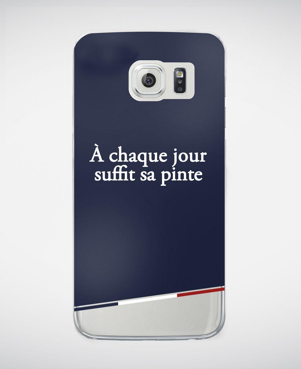 Coque smartphone À chaque jour suffit sa pinte
