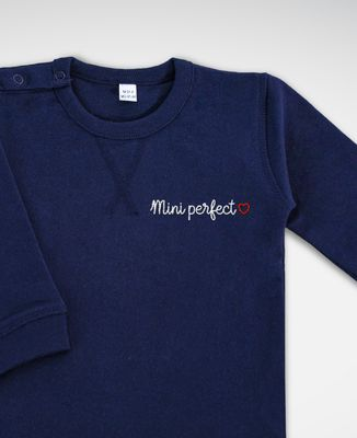 Sweatshirt bébé Mini Perfect (brodé)