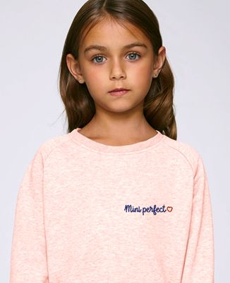 Sweatshirt enfant Mini Perfect (brodé)