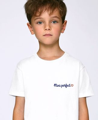 T-Shirt enfant Mini Perfect (brodé)