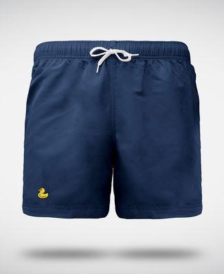 Short de Bain Canard jaune (brodé)
