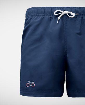 Short de Bain Vélo tricolore (brodé)
