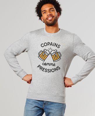 Sweatshirt homme Copains comme pressions