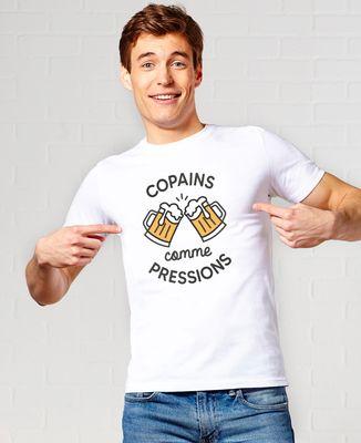 T-Shirt homme Copains comme pressions