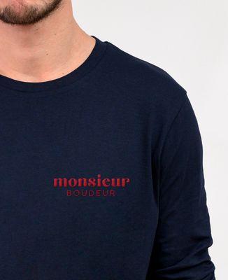 T-Shirt homme manches longues Monsieur brodé personnalisé