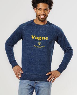 Sweatshirt homme Vague de bonheur