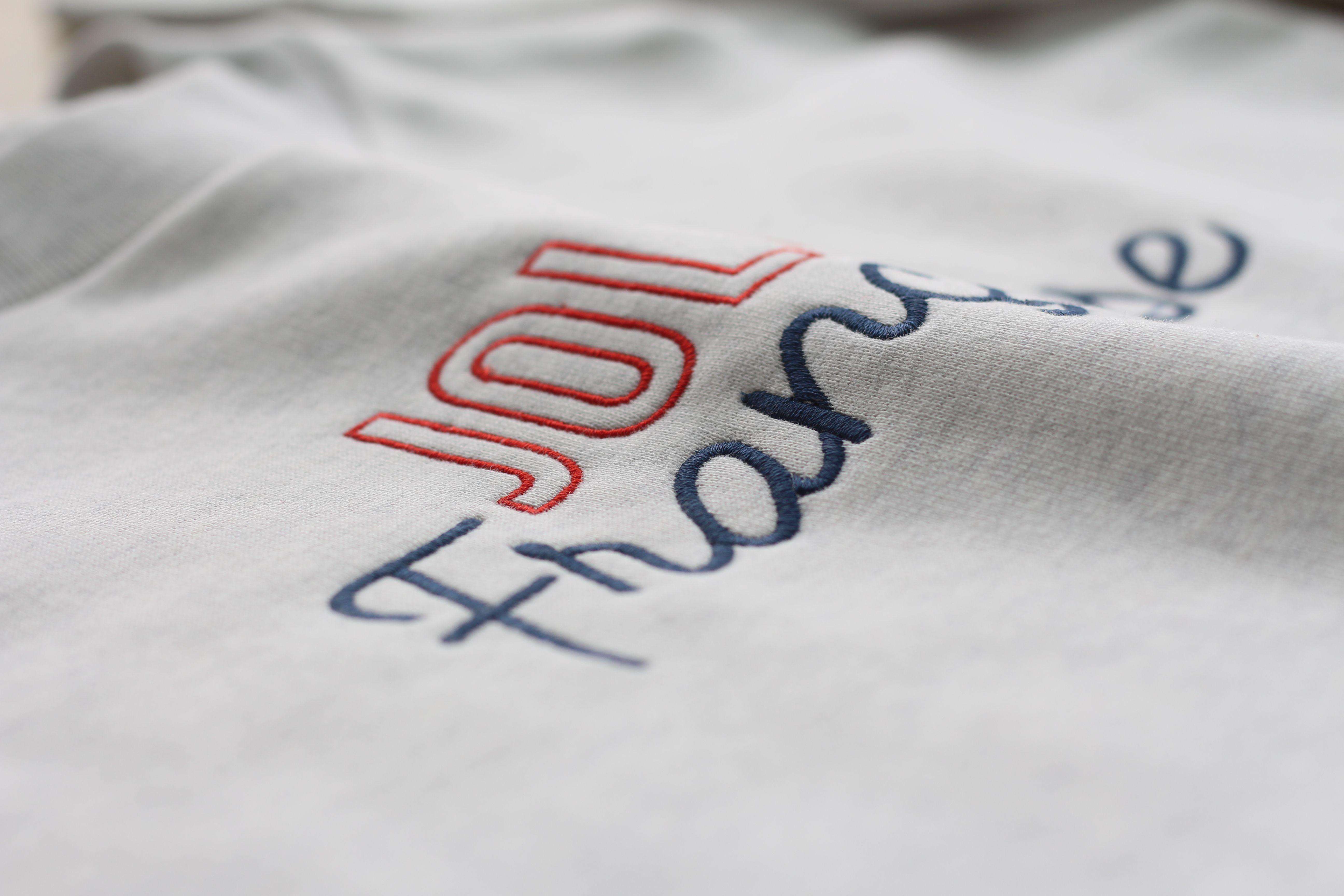 Les vêtements Monsieur TSHIRT sont imprimés et brodés en France.