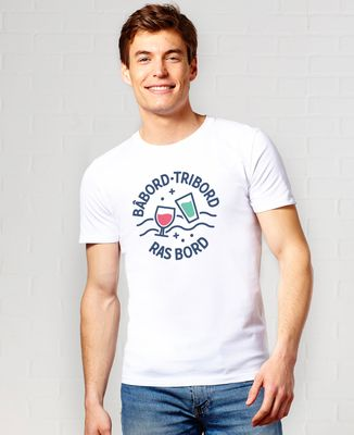 T-Shirt homme Ras bord
