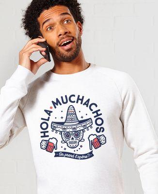 Sweatshirt homme Hola muchachos, on prend l'apéro ?