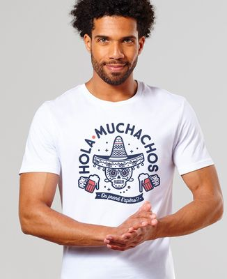 T-Shirt homme Hola muchachos, on prend l'apéro ?