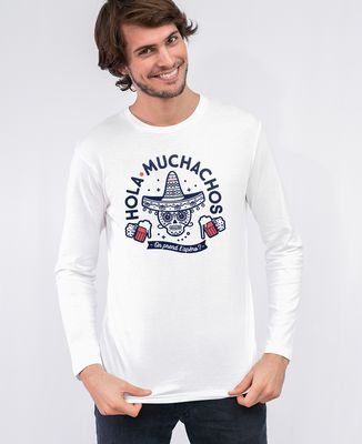 T-Shirt homme manches longues Hola muchachos, on prend l'apéro ?