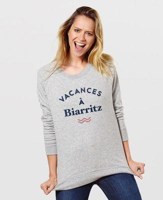 Sweatshirt femme Vacances personnalisé