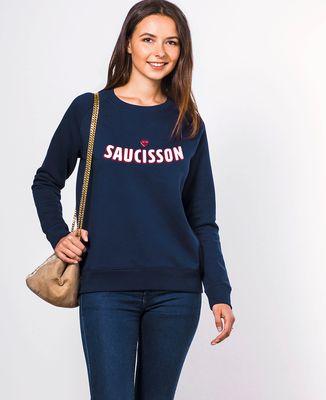 Sweatshirt femme Saucisson coeur