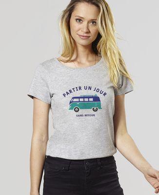 T-Shirt femme Partir un jour sans retour