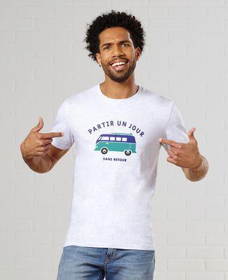 T-Shirt homme Partir un jour sans retour