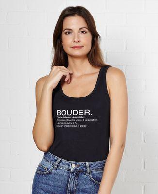 Débardeur femme Bouder définition