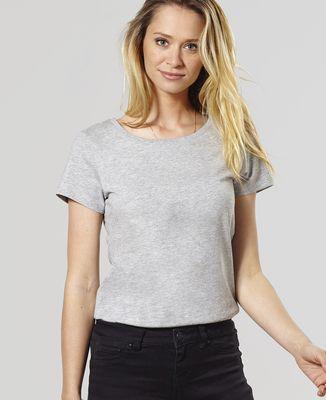 T-Shirt femme Je suis prénom personnalisé