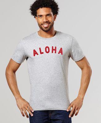 T-Shirt homme Aloha (effet velours)