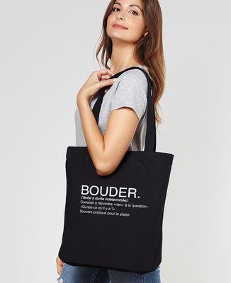 Totebag Bouder définition