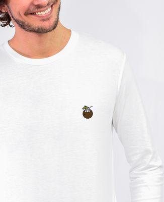 T-Shirt homme manches longues Coconuts (brodé)
