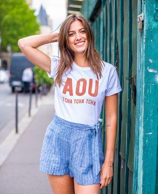 T-Shirt femme Aou tcha tcha tcha
