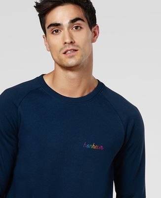 Sweatshirt homme Bonheur (brodé)