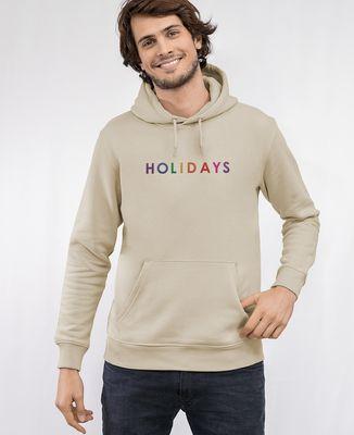 Hoodie homme Holidays (brodé)