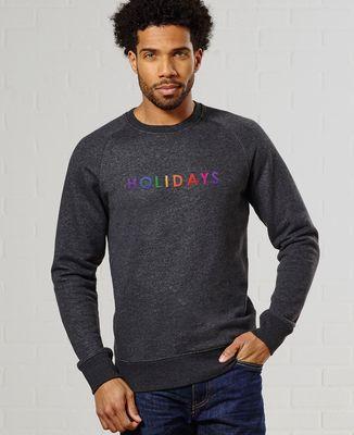 Sweatshirt homme Holidays (brodé)