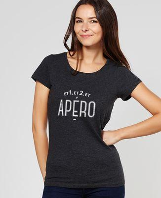 T-Shirt femme Et 1, et 2 et apéro