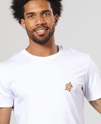 T-Shirt homme Tortue de mer (brodé)