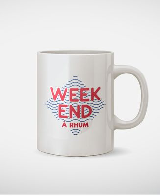 Mug Weekend à rhum