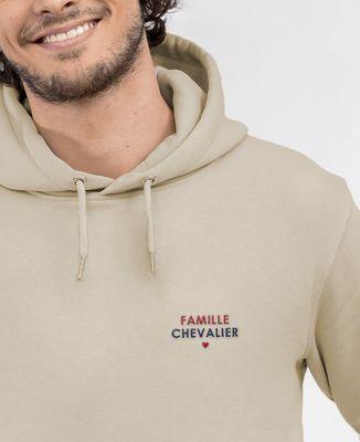 Hoodie homme Nom de famille brodé personnalisé