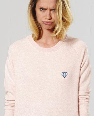 Sweatshirt femme Diamant (brodé)