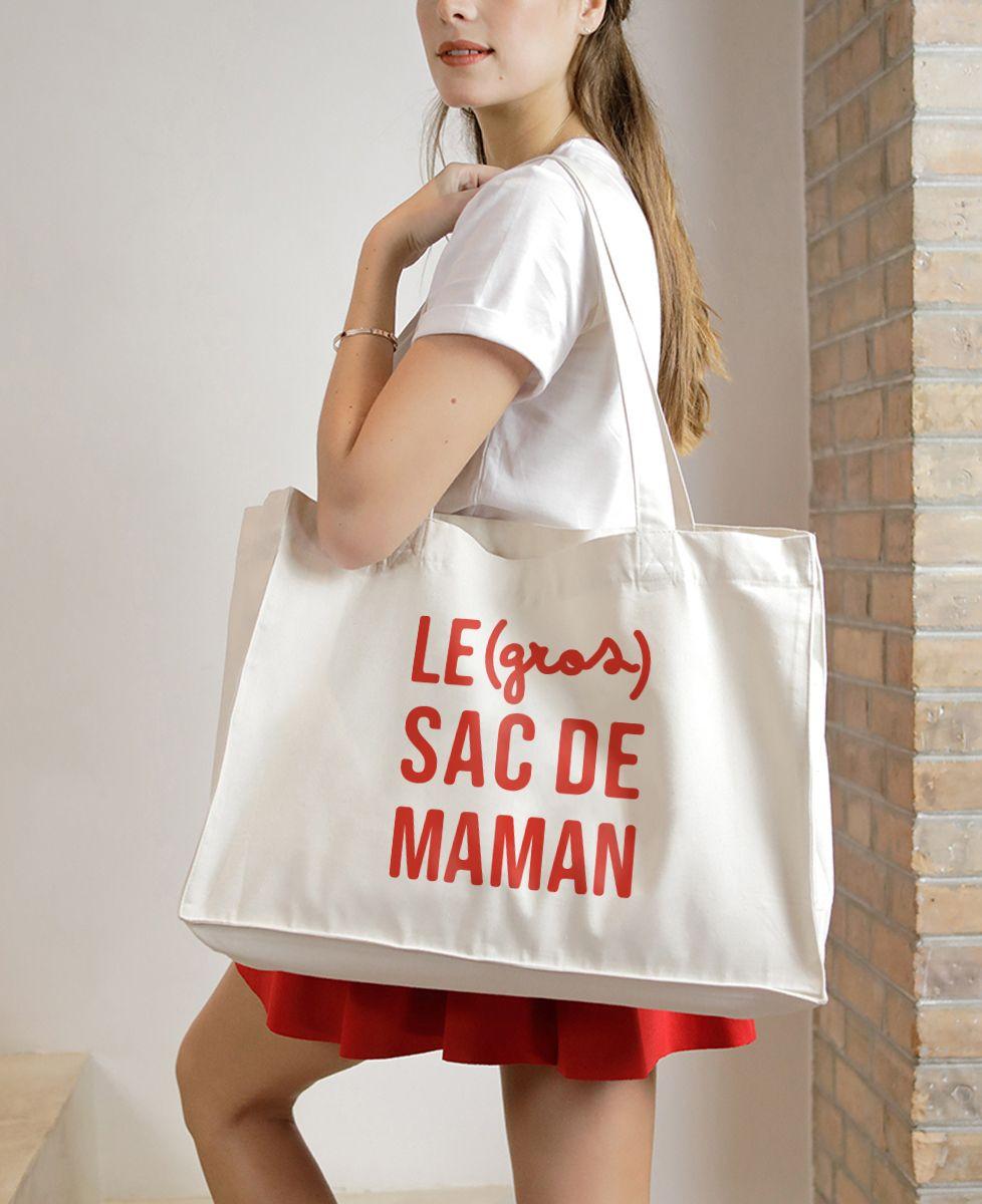 Maxi totebag Le (gros) sac de Maman