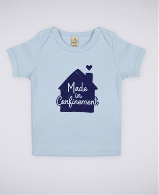 T-Shirt bébé Made in confinement