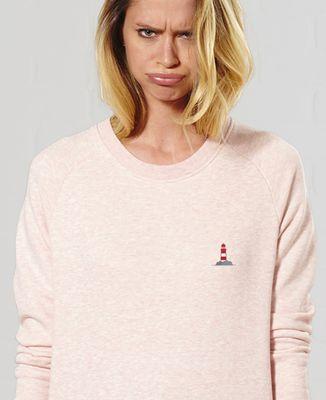 Sweatshirt femme Phare (brodé)