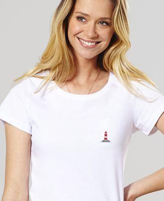 T-Shirt femme Phare (brodé)