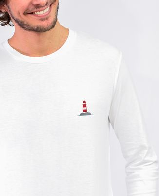 T-Shirt homme manches longues Phare (brodé)
