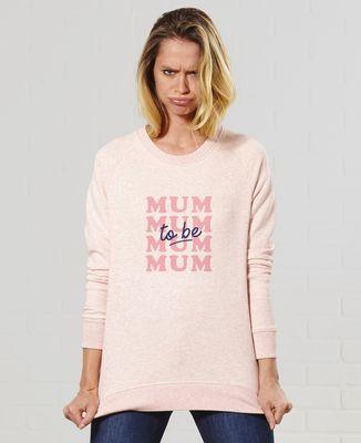 Sweatshirt femme Mum to be