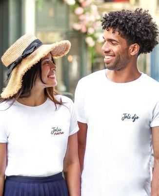 T-Shirt femme Joli nana (brodé)